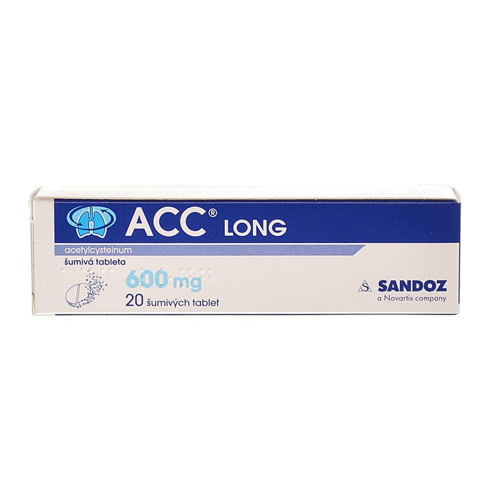 ACC LONG 600 mg příbalový leták