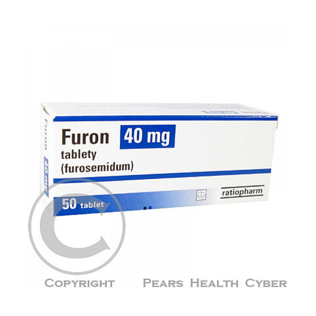 Furon 40 mg příbalový leták