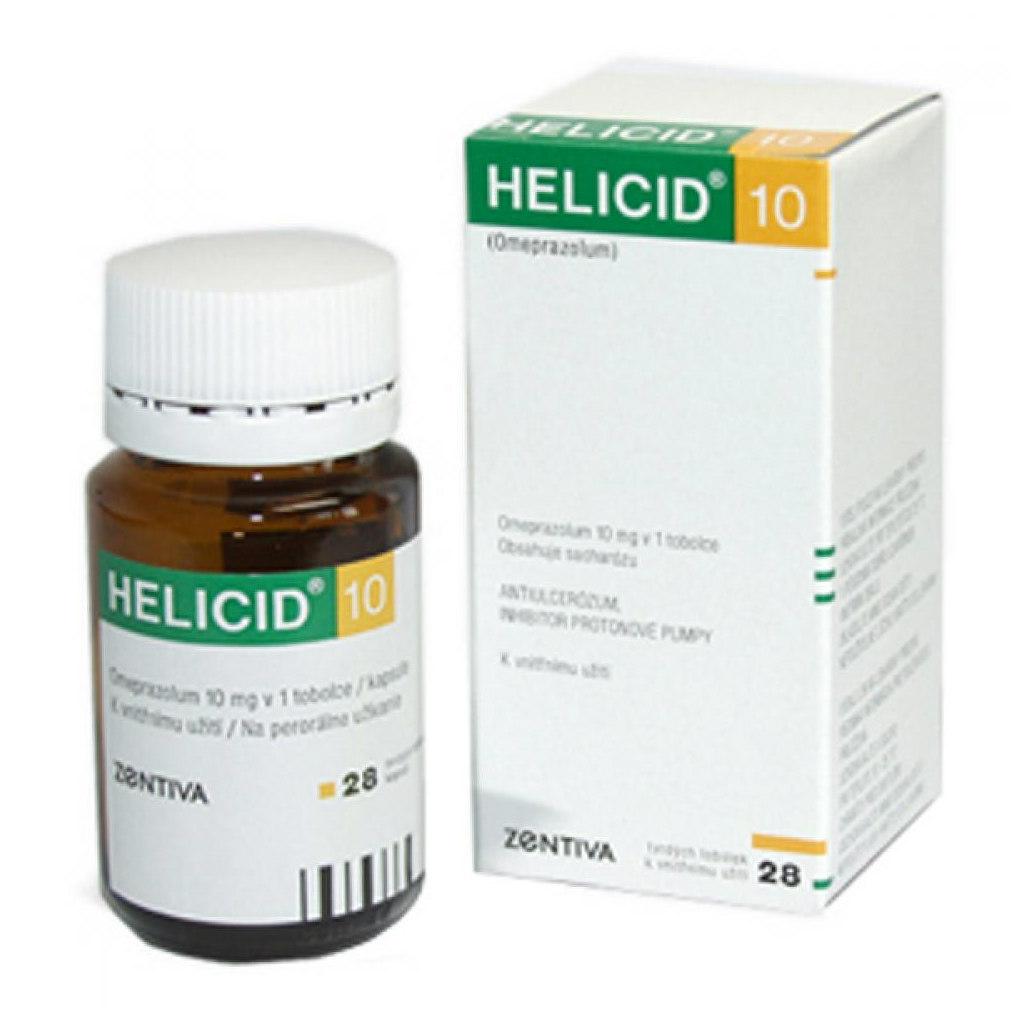 Helicid 40 mg příbalový leták