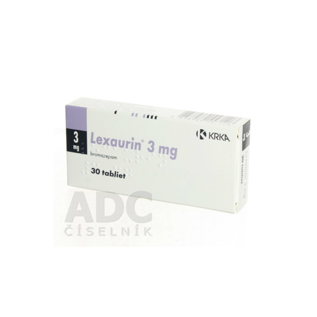 Lexaurin 3 mg příbalový leták