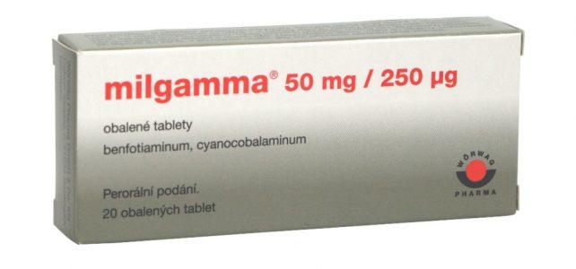 Milgamma 50 mg / 250 μg příbalový leták
