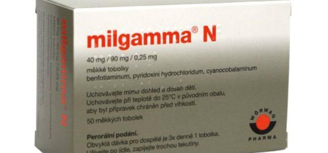 Milgamma N 40 mg / 90 mg / 0,25 mg příbalový leták