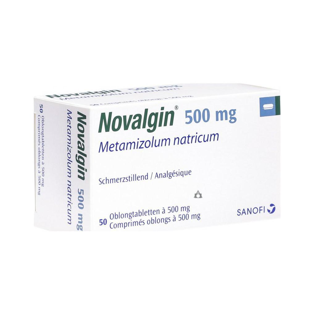 Novalgin 500 mg příbalový leták