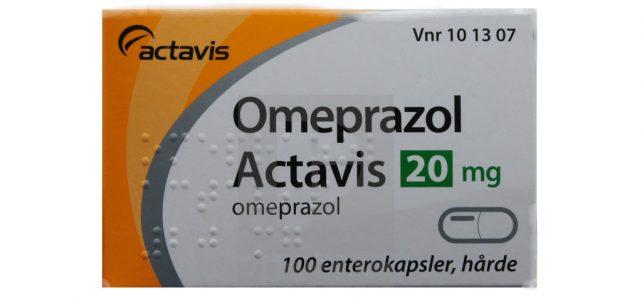 Omeprazol Actavis 20 mg příbalový leták