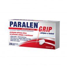 Paralen GRIP chřipka a bolest příbalový leták